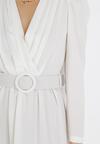 Biała Sukienka Kahlisise