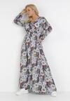 Granatowa Sukienka Irinira