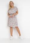 Biała Sukienka Chagina
