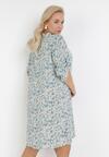 Jasnoniebieska Sukienka Clalis