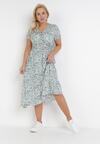 Jasnoniebieska Sukienka Glysola