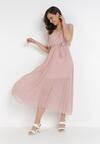 Łososiowa Sukienka Tryxnessa