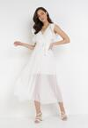 Biała Sukienka Tryxnessa