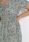 Miętowa Sukienka Lynnelin