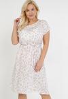 Biała Sukienka Nemenilla