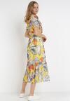 Żółta Sukienka Jynoris