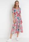 Różowa Sukienka Jynoris
