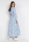 Jasnoniebieska Sukienka Yrelyxih
