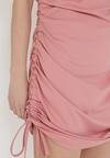 Ciemnoróżowa Sukienka Wylinorin
