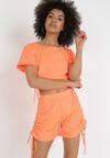Pomarańczowy 2-Częściowy Komplet Xennixi