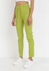 Zielone Spodnie Skinny Lilrya
