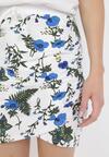 Biało-Niebieska Spódnica Corosesis