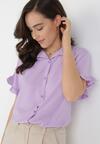Liliowa Koszula Wylintila