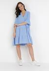 Niebieska Sukienka Lilintila