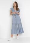 Jasnoniebieska Sukienka Pisimea