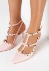 Różowe Sandały Eathewai