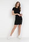 Czarna Sukienka Lipise