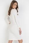 Beżowa Sukienka Sirelise