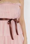 Różowa Sukienka Moldorise