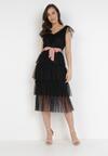 Czarna Sukienka Hicine