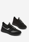 Czarno-Białe Buty Sportowe Daeipheme