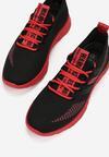 Czarno-Czerwone Buty Sportowe Daeipheme
