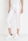 Białe Spodnie Skinny Evalira