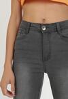 Ciemnoszare Spodnie Skinny Callaney