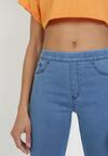 Niebieskie Spodnie Skinny Bolireanes