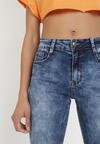 Niebieskie Jeansy Regular Nariwai