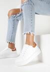 Biało-Camelowe Sneakersy Buthophor