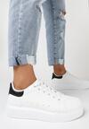 Biało-Czarne Sneakersy Buthophor