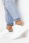Biało-Wężowe Sneakersy Ashiphise