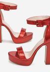Czerwone Sandały Poreitheis