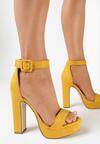 Żółte Sandały Gathixia