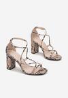 Beżowe Sandały Zephukas