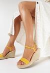 Żółte Sandały Sirerin