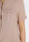 Beżowa Koszula Danamine