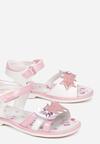 Różowe Sandały Alcitheis