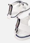 Biało-Niebieskie Sandały Thaliphei