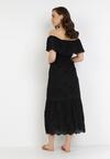 Czarna Sukienka Pisiliphis