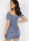 Niebieska Sukienka Merisana