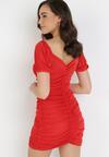 Czerwona Sukienka Merisana