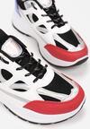 Biało-Czarne Sneakersy Xenielle
