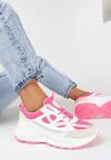 Biało-Fuksjowe Sneakersy Xenielle