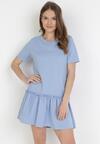 Niebieska Sukienka Adoriko