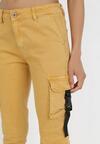 Żółte Spodnie Bojówki Mhyress