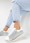 Srebrne Sneakersy Tinnara
