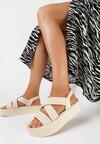 Beżowe Sandały Salariko