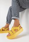 Żółte Sandały Salariko